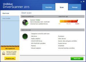 Uniblue DriverScanner Crack + Registration Key Free Download