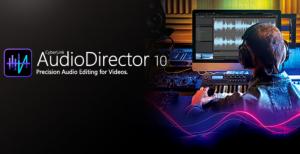 CyberLink AudioDirector Ultra 10.0.2315.0 Crack + Full Version [Latest]