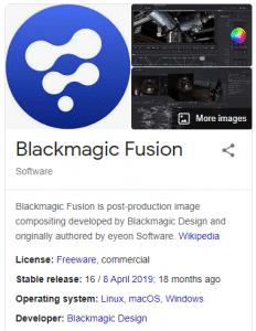 Blackmagic Fusion Studio 16 Crack + Key [Free Download]