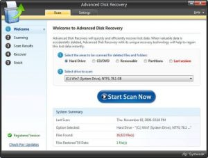 Advanced Disk Recovery 2.7.12 Crack Incl Key Free Download