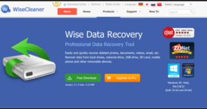 Wise Data Recovery 5.1.8 Crack + Serial Key Free Download