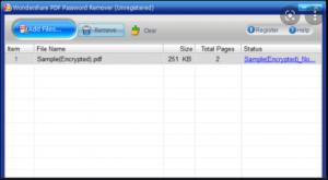 Wondershare PDF Password Remover Crack + Registration Code 2022